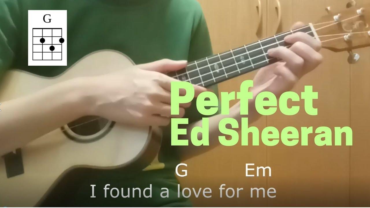 Perfect Ed Sheeran Ukulele Easy Tutorial In Just 4 Chords