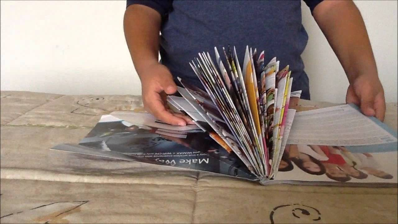 Crafts With Phone Books