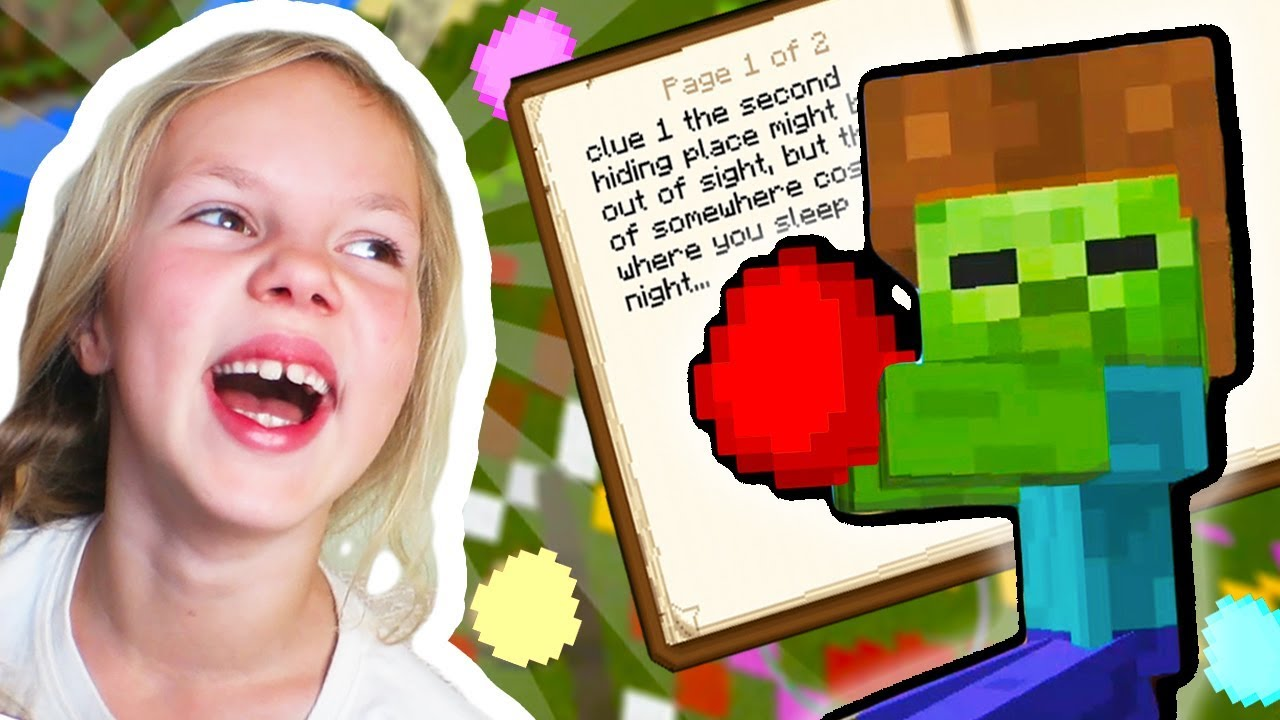 EASTER EGG HUNT Adopt and Raise a Cute [Zombie] Kid [Ep.14] ❑ MINECRAFT