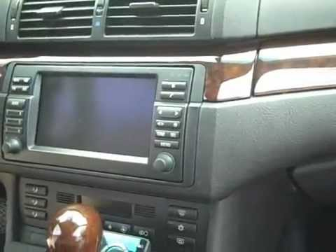 BMW 330 Navigation and Stereo Removal 2003 - YouTube