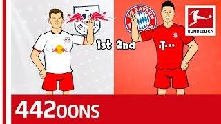 Werner, Lewandowski & Co. - RB Leipzig vs. FC Bayern München Rap Battle - Powered by 442oons