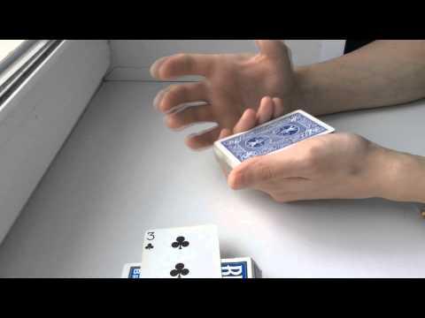 Карточный фокус  обучение Классика