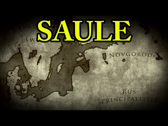 The Battle of Saule 1236 AD