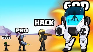 EVOLVING a MAX LEVEL STICKMAN ARMY in Stickman World War