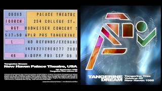 Tangerine Dream New Haven 1988