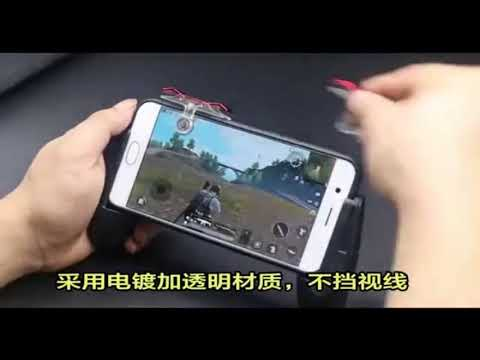 Phone Gamepad Trigger Fire Button Aim Key Smartphone Mobile Games L1R1 Shooter Controller