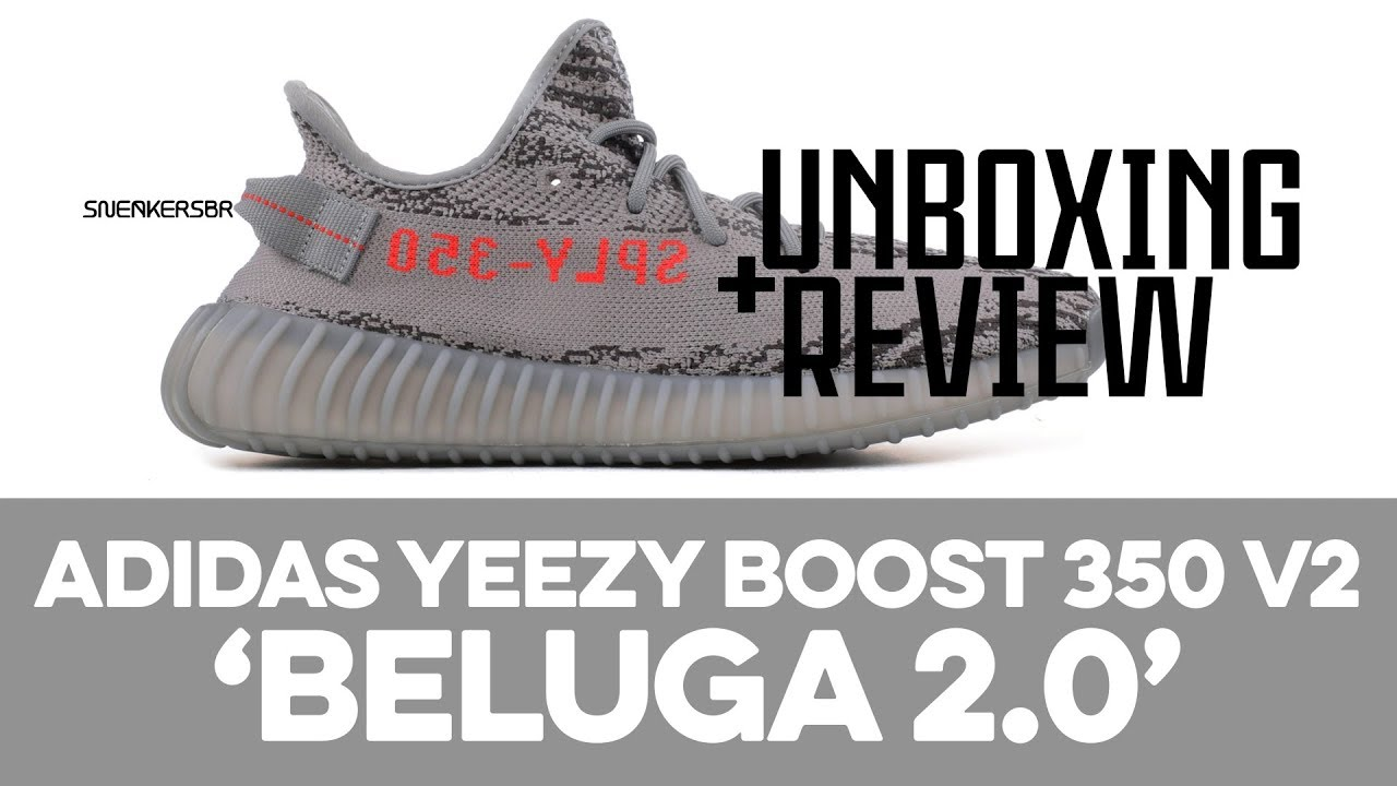 UNBOXING+REVIEW adidas YEEZY Boost 350 V2 'Beluga 2.0'