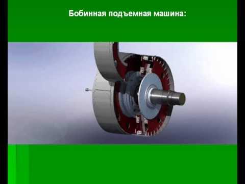 Модель бобинного подъемника в SolidWorks