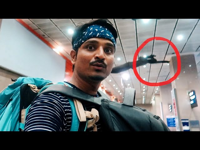 GHOST SPOTTED AT DELHI METRO   Spiti In Marathi   Episode 1