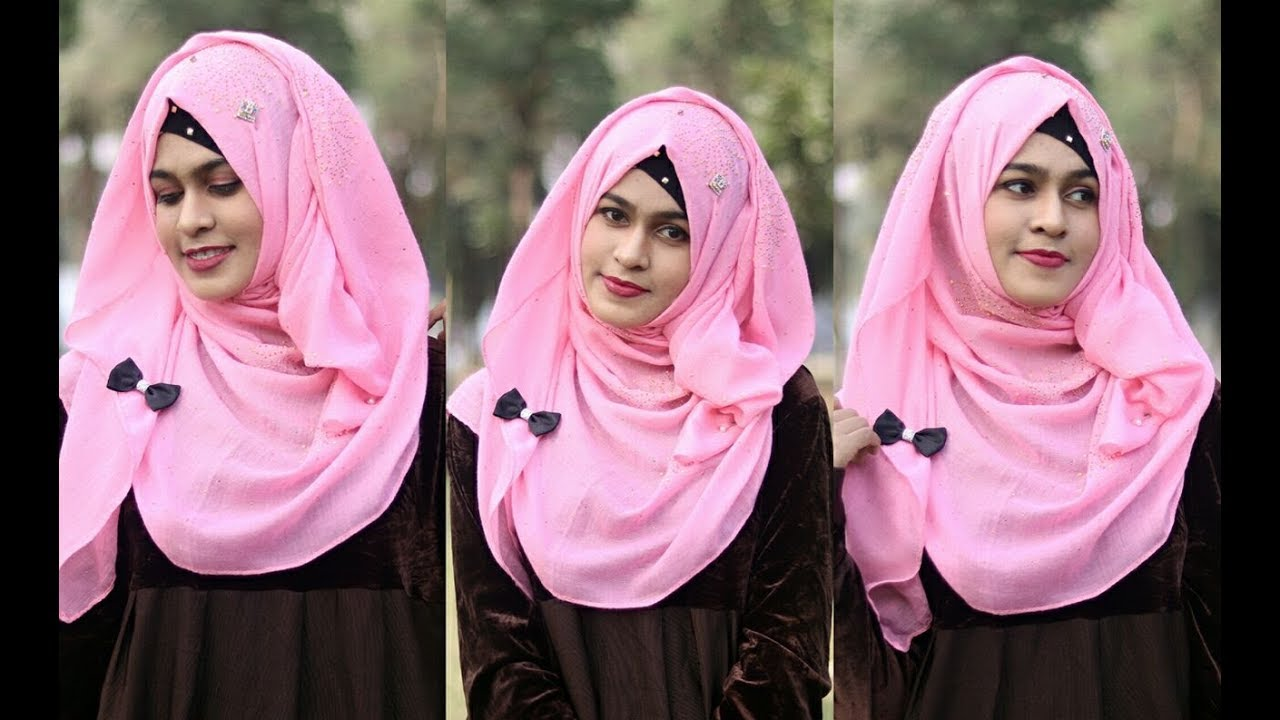 Easy No Layer Hijab style For School / College / University [MUNA]