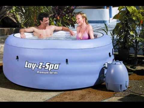 Whirlpool aufblasbar, 900 Liter, beheizt von 20 - 40° C ...