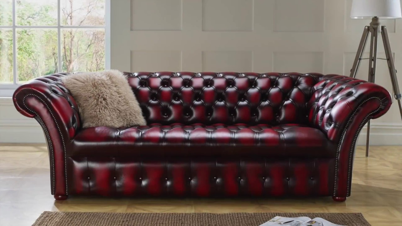 Chesterfield Sofa | By Designer Sofas For You - YouTube