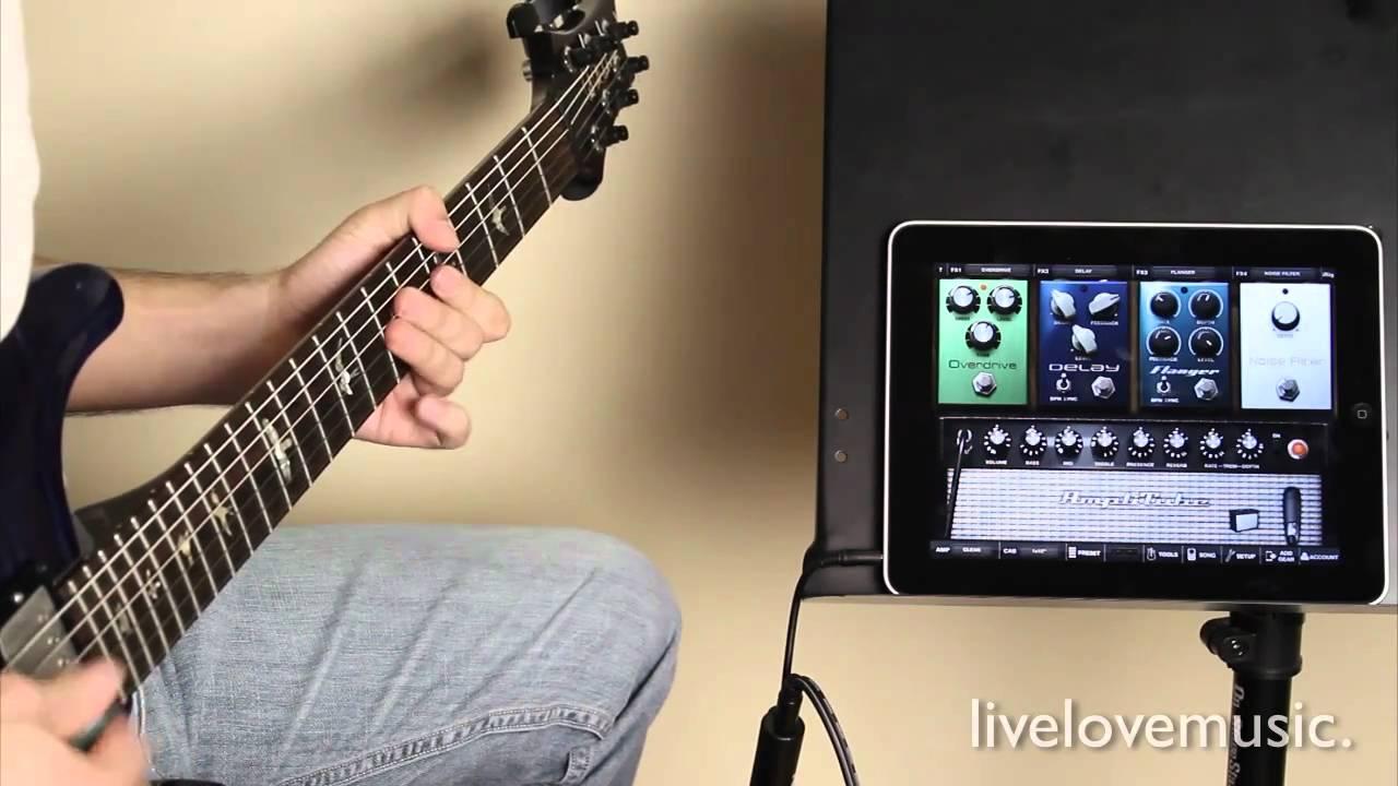 amplitube bass guitar