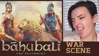 Bahubaali WAR SCENE REACTION!!! | Indi Rossi
