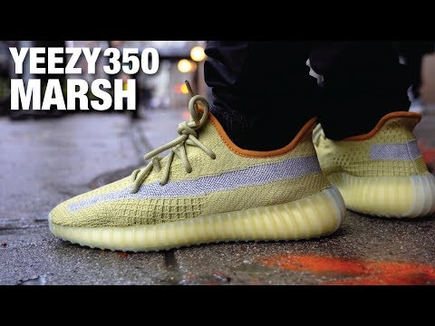 one-of-the-most-limited-yeezys?!-adidas-yeezy-boost-350-v2-marsh-review-&-on-feet