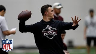 Johnny Manziel's Pro Day Highlights from Texas A&M | NFL Highlights