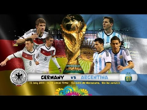 Germany vs Argentina ●  World Cup 2014 FINAL ● PROMO ||HD||