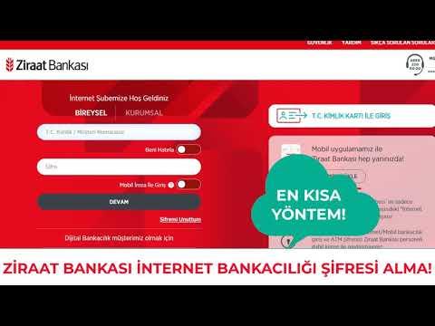 Ziraat Bankası İnternet Bankacılığı Şifresi Nasıl Alınır? Bankaya Gitmeden Mobil Şifre Alma!