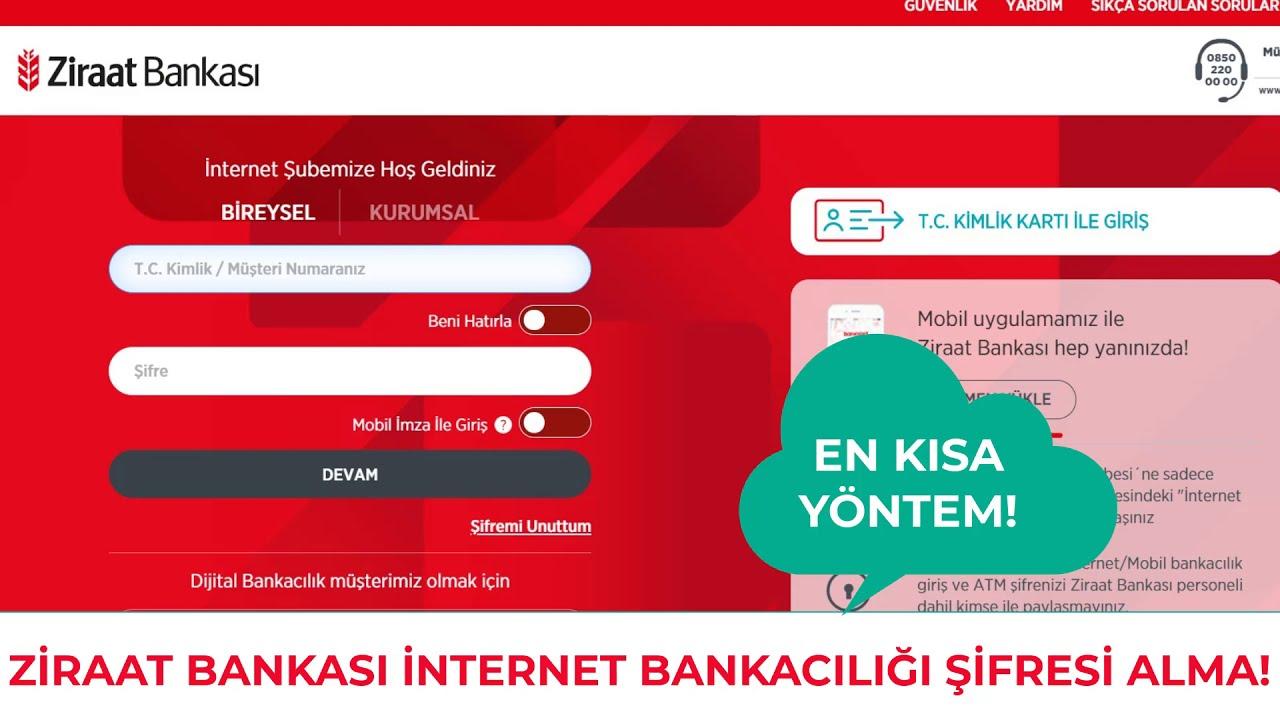 Ziraat Mobil İnternet Alışverişine Açma-Kapama 2021 / E Ticaret İşlemlerine Açma