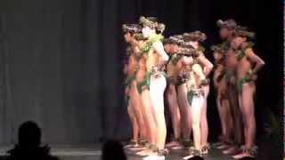 Academy of Hawaiian Arts Kane Kahiko 2013 Competition