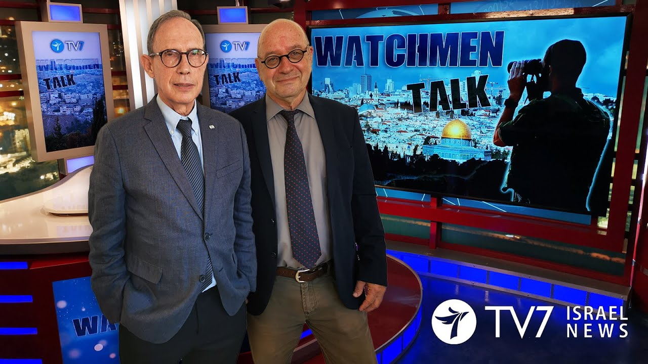 TV7 Israel: Watchmen Talk – Israeli Minister of Diaspora Affairs & former IDF Spokesman Nachman Shai