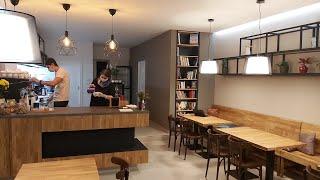 Nová kavárna a drogerie Klecany