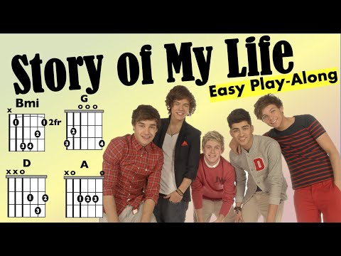 Story of my Life (One Direction) - Moving chord chart