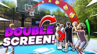 2HYPE Double Screen NBA Basketball Challenge!!