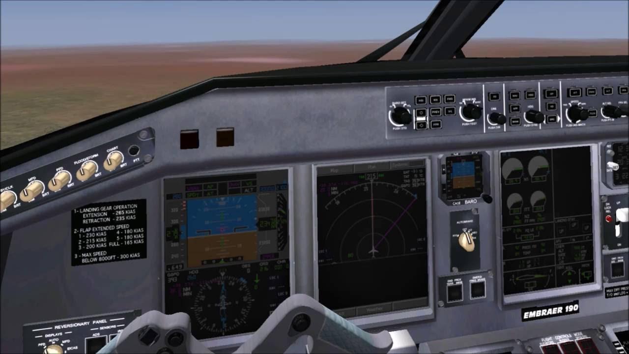 [X-Plane 10] SSG Embraer 190LR Jetblue Cold and Dark Full Flight Las Vegas  to Los Angeles