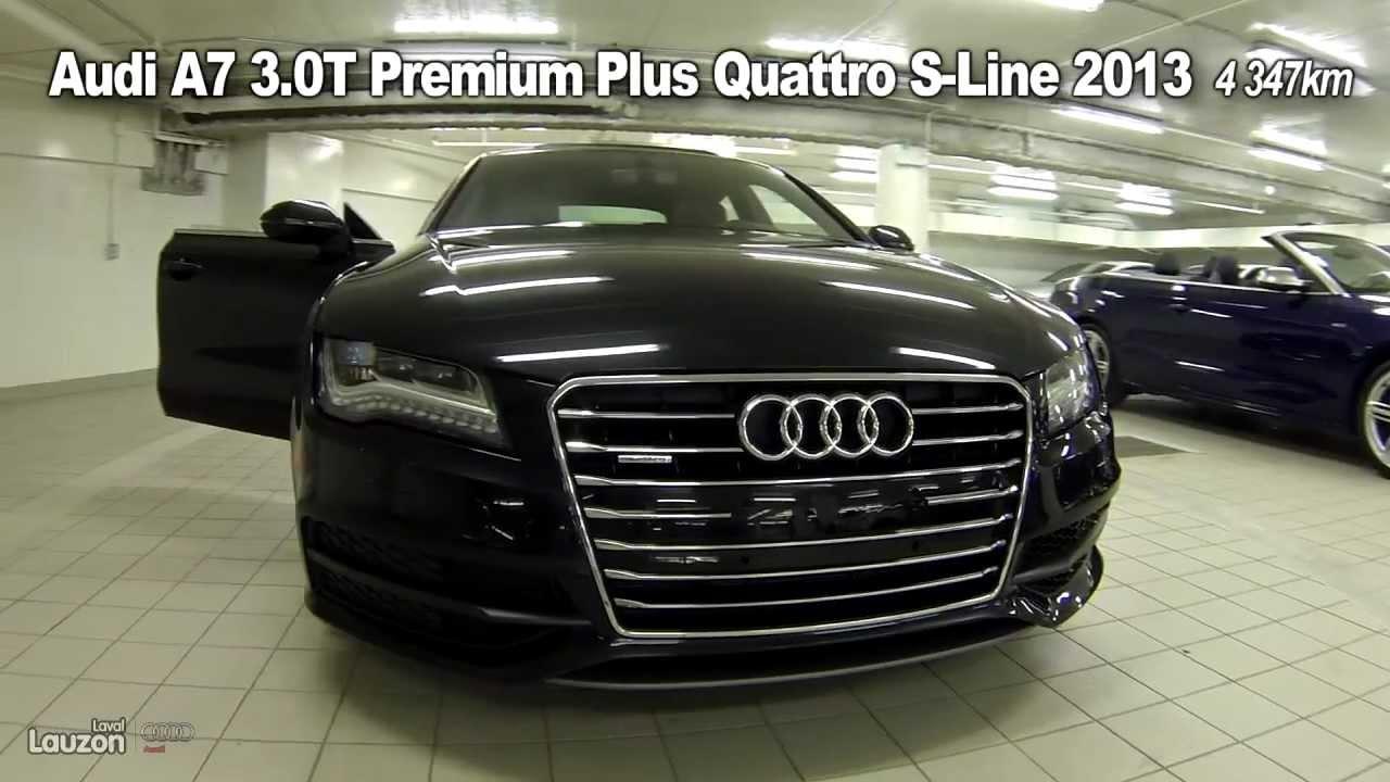 audi a7 3.0t premium plus quattro s-line 2013 - youtube