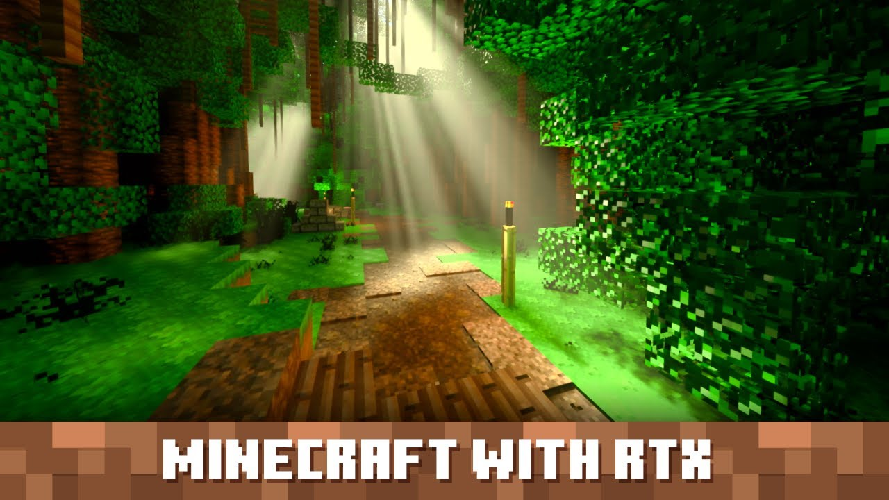 Announcing the Minecraft with RTX for Windows 10 Beta!