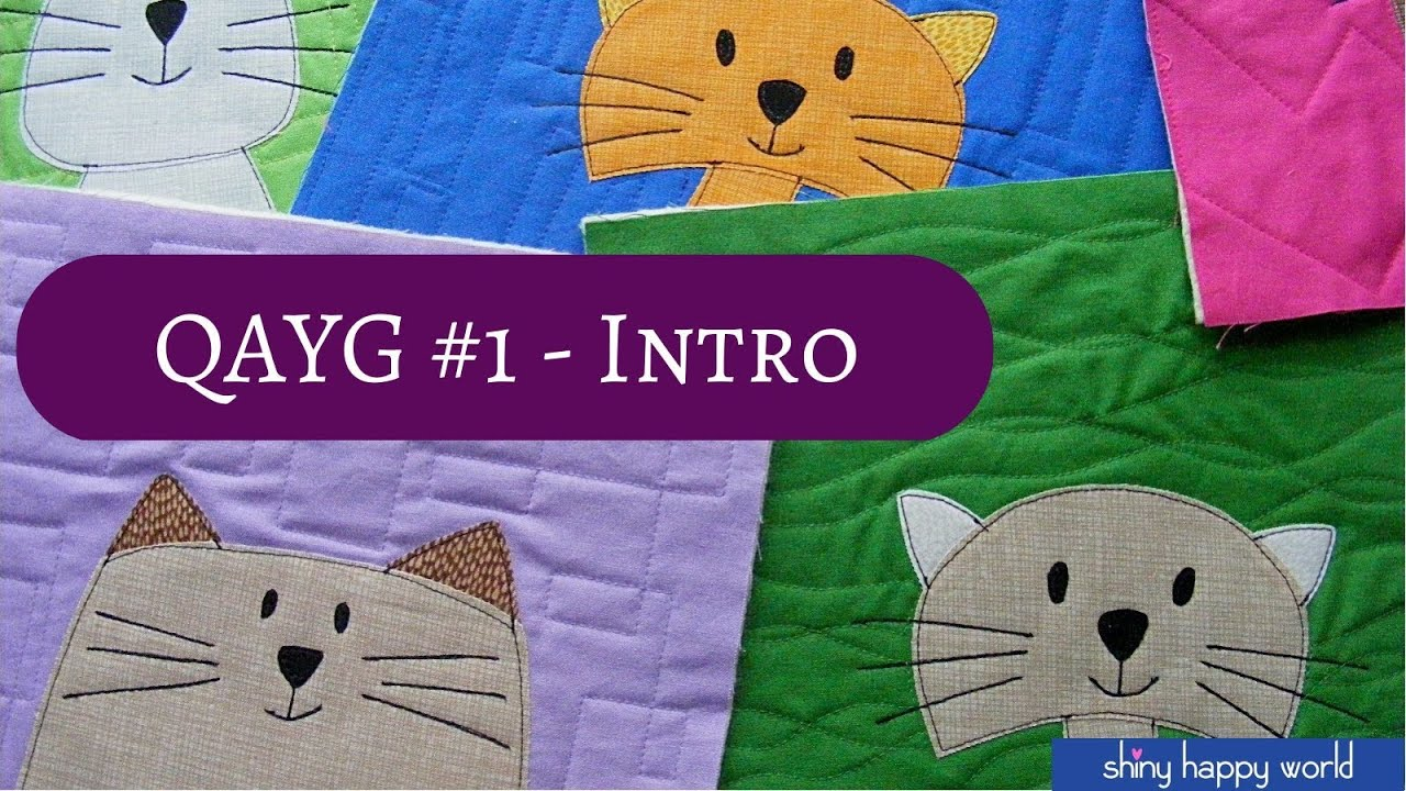 Quilt as You Go #1 - The Basic Technique - YouTube : quilt as you sew - Adamdwight.com