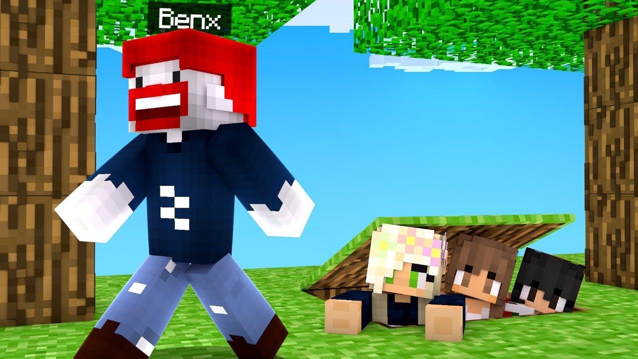 Download BENX vs. 100 SPIELER im HIDE AND SEEK..