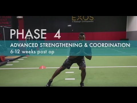 ACL Strengthening Exercises | ACL and Knee Conditioning Program | Best ACL Exercises | Phase 4 OLD