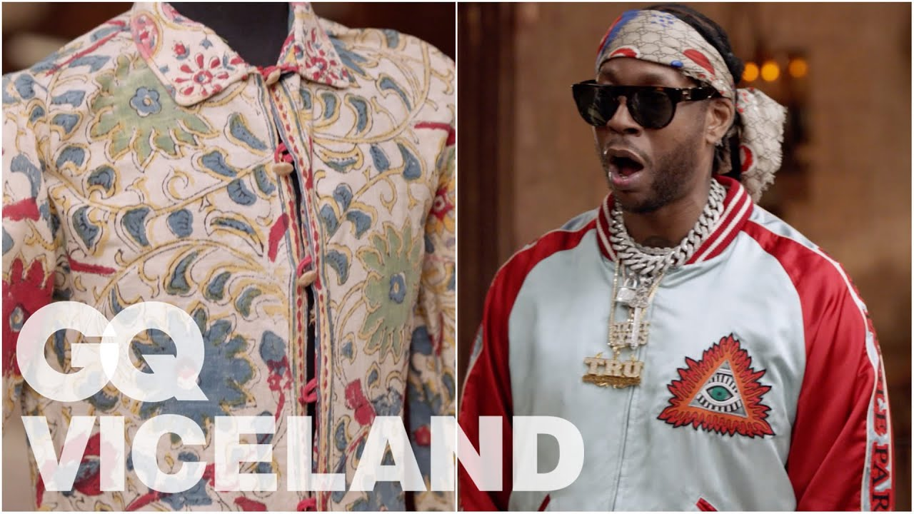 2 Chainz Checks Out a $106K Jimi Hendrix Jacket | Most Expensivest | VICELAND & GQ image