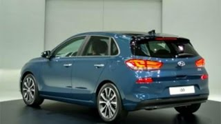Novo Hyundai i30 2017 Veja como Ficou Lan amento em Paris