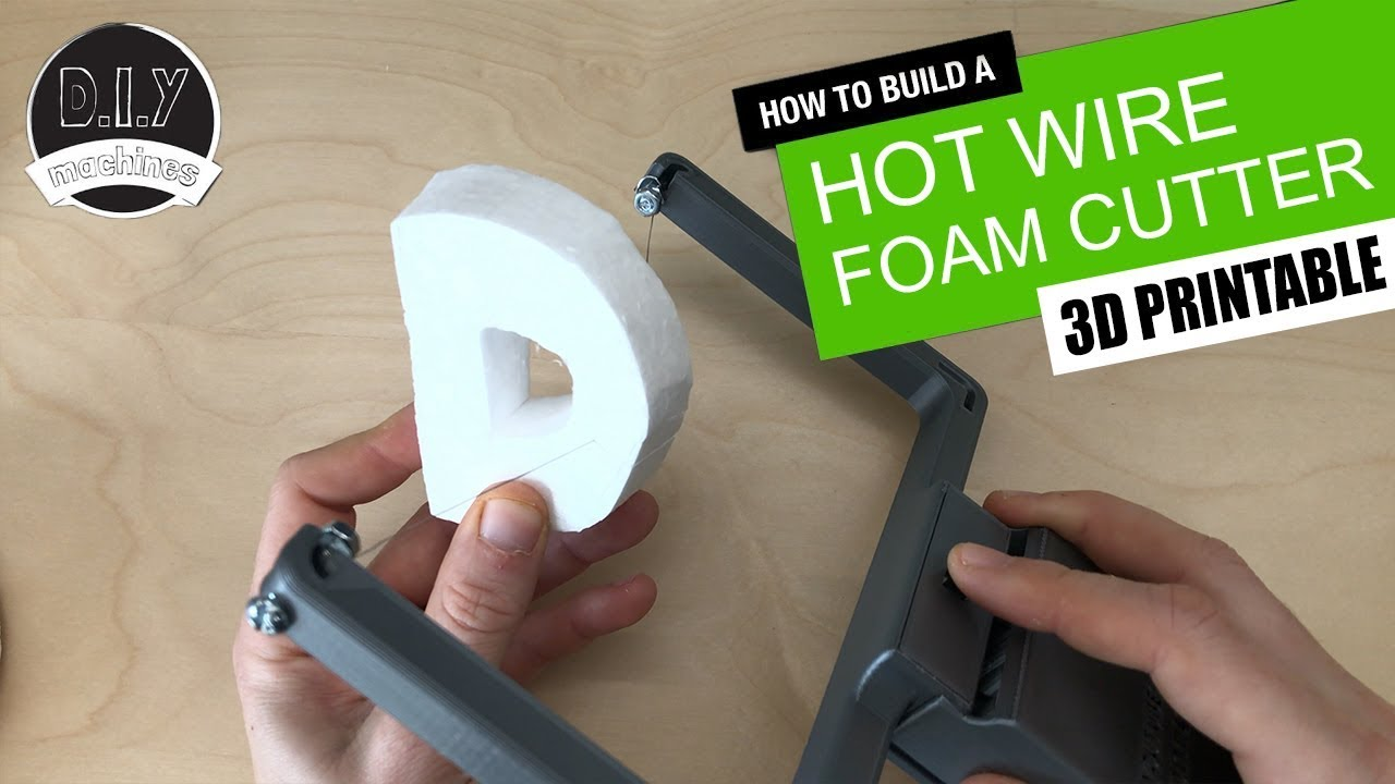 Hot Wire Foam Project Center Cutter By Tony Van Roon Va3avr 3d Printed Battery Powered Diy Rh Youtube Com