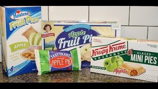 Tastykake Vs Hostess Vs Little Debbie Vs Krispy Kreme: Apple Pie Blind Taste Test