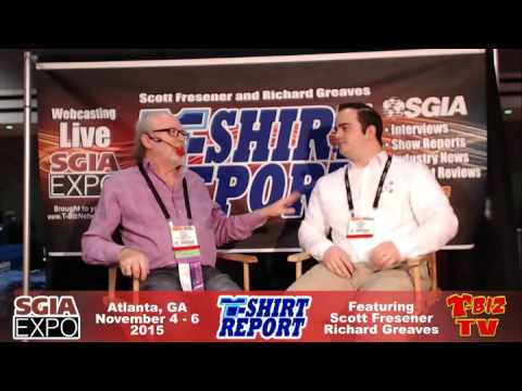 T-Shirt Report SGIA 2015 - Interview with Luke Ryerkerk - Inksoft