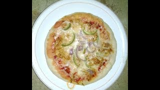 Easy Homemade pizza with pressure cooker