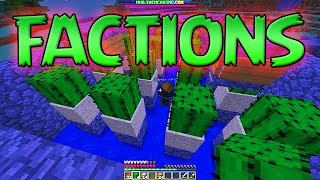 Minecraft FACTIONS : How To Build A Cactus Farm - Paying Our Debts! [4] Bajan Canadian & JeromeASF