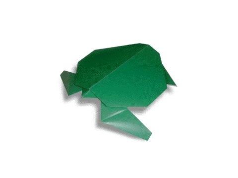 Cách gấp, xếp con rùa bằng giấy origami - Video hướng dẫn xếp hình