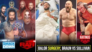 Raw Vs Smackdown After Draft, Sullivan Vs Braun Big Match, Roman HIAC Secret, Retribution Cancelled