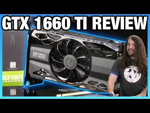 EVGA GTX 1660 Ti XC Review: Non-RTX Turing GPU