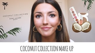 MARC JACOBS BEAUTY MAKEUP WITH COCONUT COLLECTION AND ENAMORED LIP GLOSS | ALEXANDRA PEREIRA