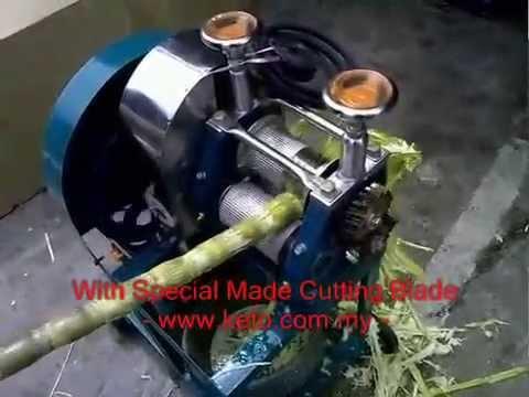 KT Sugar Cane Machine (Mesin Tebu)