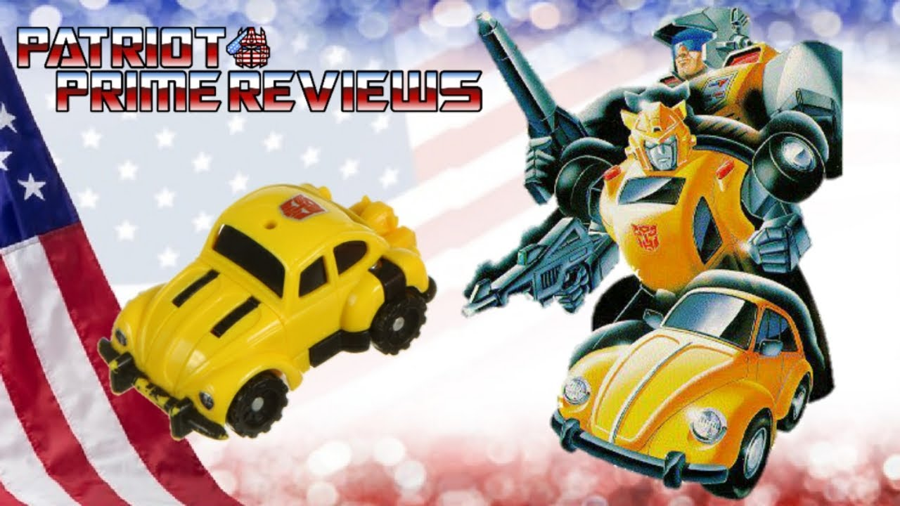 Patriot Prime Reviews 1989 Classic Pretender Bumblebee
