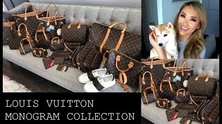 MY ENTIRE LOUIS VUITTON MONOGRAM COLLECTION 2019 | hollyannaeree