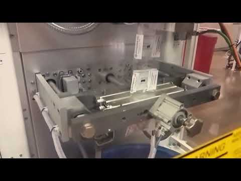 Novus VFFS High Speed Bagger Packaging Yogurt Melts At 120 Ppm