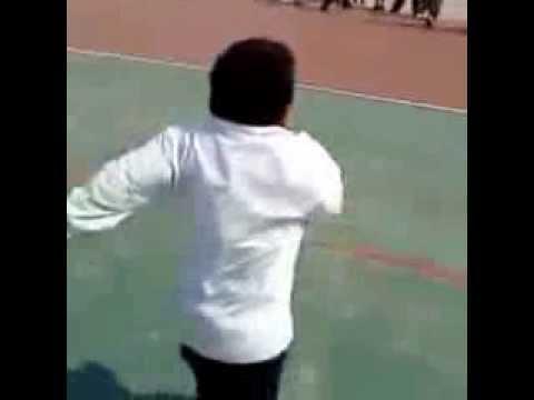 fat kid cheats race against classmates funny video of
